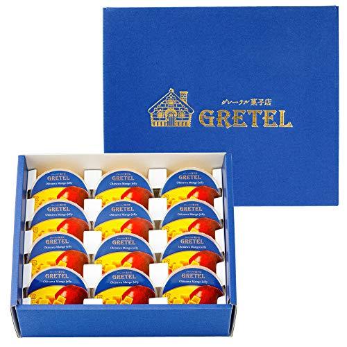 グレーテル菓子店 ゼリー マンゴー 75g×12個