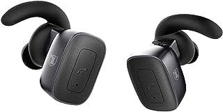 Kaiser Audífonos Bluetooth Deportivos KSR True Wireless Inalámbricos con Micrófono y Manos Libres Negros