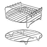 Aire Fryer Accessories-Air Fryer Rack Conjunto de 2 Bastidor de...