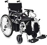 WJSWD Sillas de ruedas eléctricas para adultos, silla de ruedas eléctrica,...