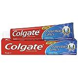Pasta de dientes Colgate Protección Caries flúor activo y calcio líquido, sabor tradicional 75ml