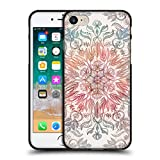 Head Case Designs Oficial Micklyn Le Feuvre Especias de otoño Mandala Funda de Gel Negro Compatible con Apple iPhone 7 / iPhone 8 / iPhone SE 2020
