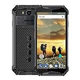 Ulefone Armor 3-5.7 inch FHD Corning Gorilla Glass Outdoor 4G Smartphone,10300mAh Battery, 4GB+64GB, IP68/IP69K Waterproof/Shockproof/Dustproof Android 8.1, Dual Speaker/NFC/Face Unlock(Black)