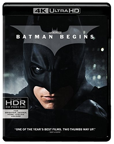 Batman Begins (Ultra HD/BD) [Blu-ray]