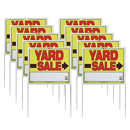 Sunburst Systems 3908 Yard U-Stake Yard Sale Sign, 22