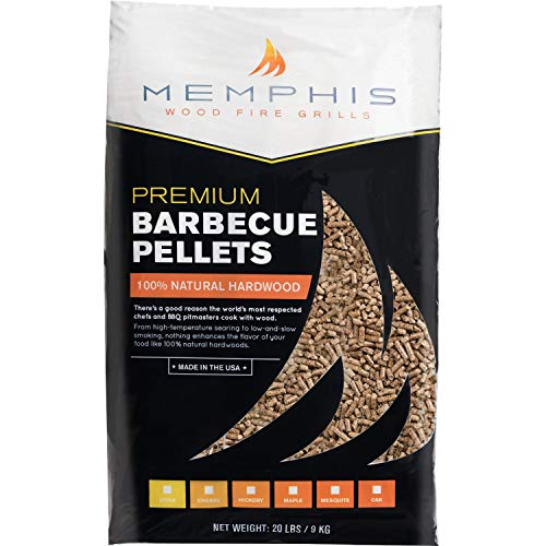 Memphis Grills All-Natural Wood Smoker Pellets (MGAPPLE), Apple