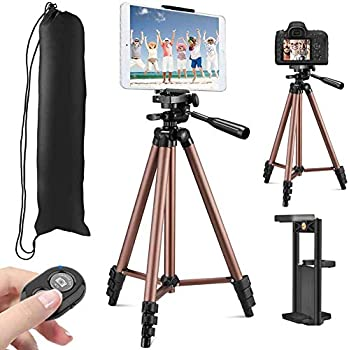 Mugast Light Stand Tripod,Lightweight Adjustable Foldable Aluminum Alloy Photography Studio Light Stand Tripod Lamp Holder with Spring Buffer Device,for Shooting