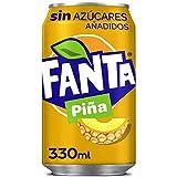 Coca-Cola Fanta Piña Sin Azucar 330 ml