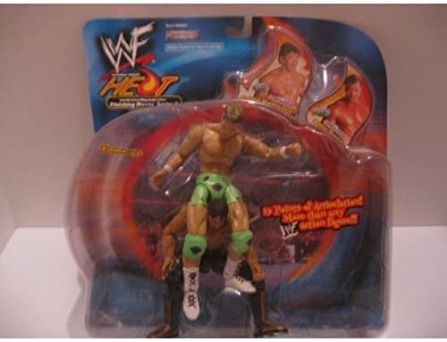 WWF HEAT FINISHING MOVES 3 EDDIE GUERRERO & BILLY GUNN FAME-ER[toys and games] by WWF