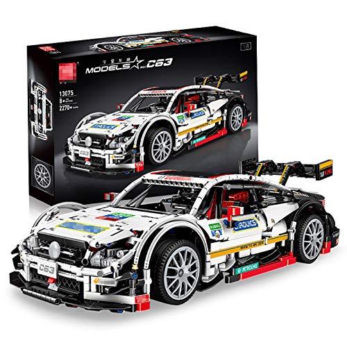 LODIY Technik Auto Bausteine G63, 2270 Teile Sportwagen Rennwagen Klemmbausteine Bauspielzeug für Kinder ab 8 Jahre