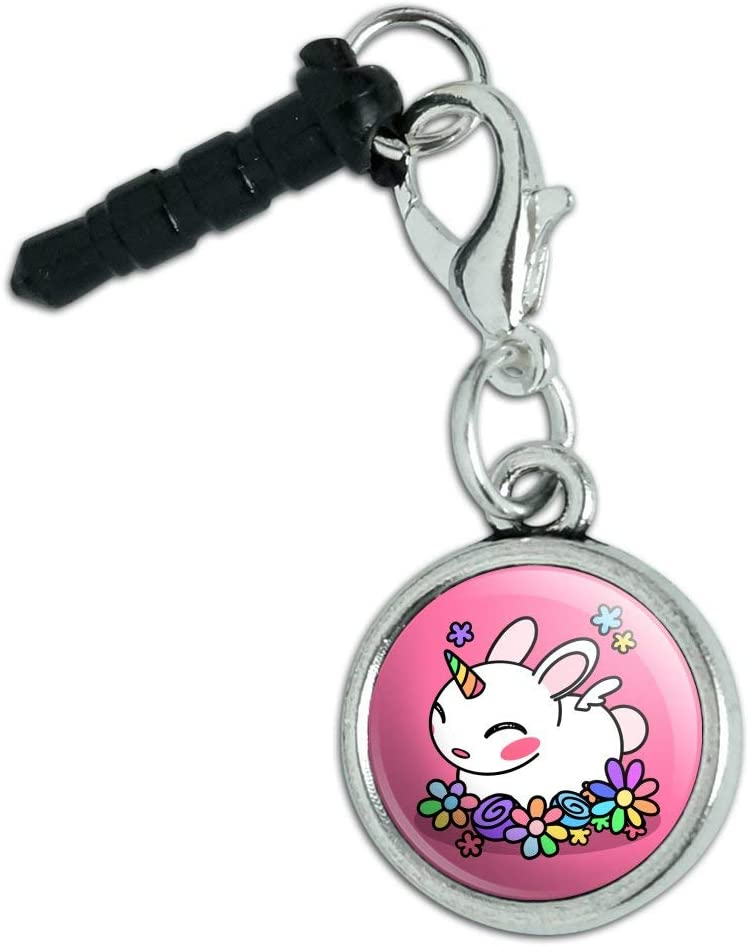 Cute Unicorn Many popular brands Bunny Rabbit with Rainbow Mobile Phone Max 45% OFF Flowers Cell