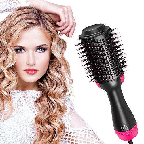 Hair Dryer Brush, Hot Air Brush, One Step Hair Dryer & Volumizer,Ceramic Blow Dryer with New Motor for Best Hair Dryer Brush, for All Hair Types