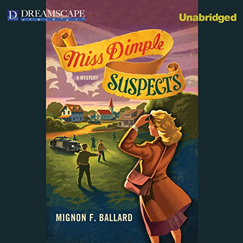 Miss Dimple Suspects audiobook cover art