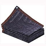 Filet camouflage Ombre noire Tissu Netting Plantes nettes, Rouleau, 95% UV résistant Netting Mesh...