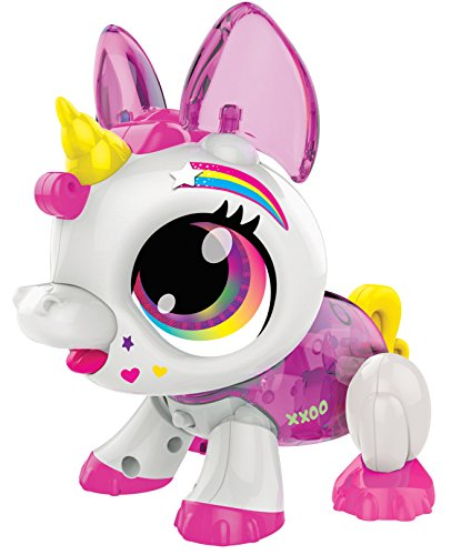 Build a Bot Sound Activated Unicorn Robot Pet Toy