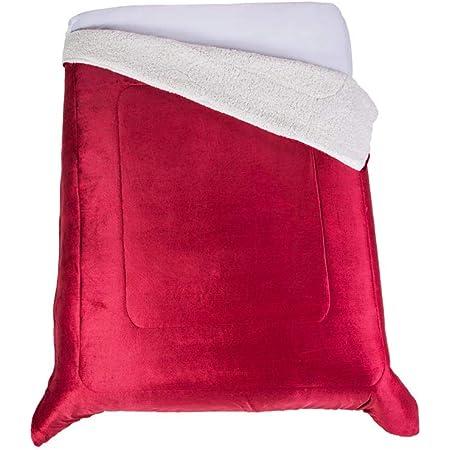 Colchas Concord WH4MUT Cobertor Hermes, Matrimonial/Individual, Vino