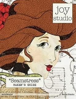 Seamstress Maker's Guide Raw Edge Applique Pattern by Joy Studio