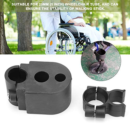 Stockhalter/Rollstuhlhalter Stockhalter Rollstuhlhalter Rollstuhlhalter Halter für Krücken Elektro-Scooter Rollstuhl/Rollator/Stock Universal Zubehör