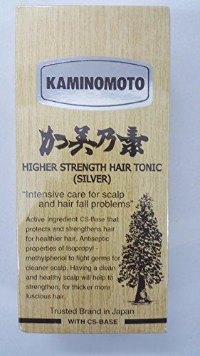 Kaminomoto Haarwuchs-Tonic (Silber), japanischer Bestseller, 150 ml, gegen Haarausfall