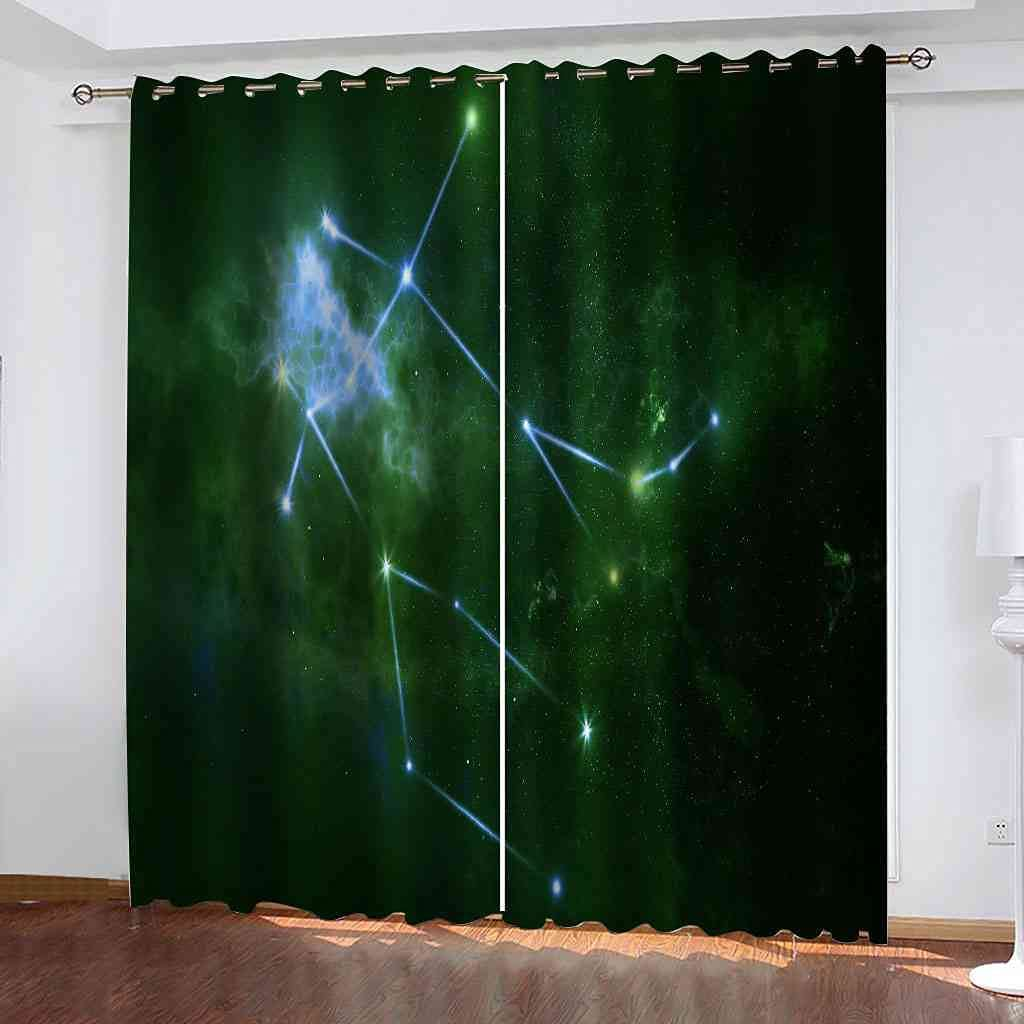 RIFTWP Window Drapes for Bedroom Blackout Room Living Max 55% OFF Printed Limited time trial price 3D