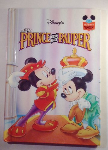 The Prince and the Pauper (Walt Disney's Wonder... B00AXH45O2 Book Cover