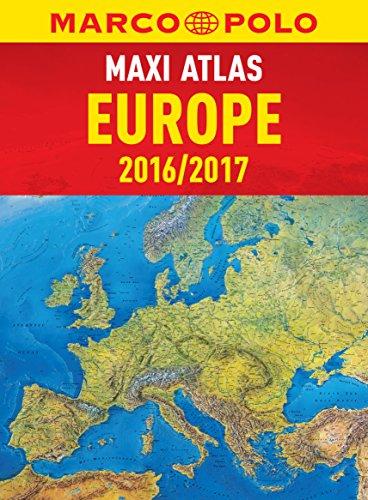 Marco Polo Maxi Atlas Europe 2016/2017 (Marco Polo Atlas)