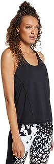 Rockwear Activewear Women's Urban Jungle Logo Trim Singlet from Size 4-18 for Singlets Tops