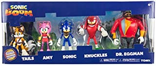 TOMY Sonic Boom Action Figure Multi Pack, of 5