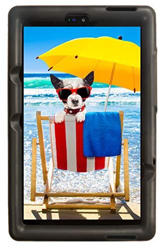 BobjGear Bobj Rugged Tablet Case for (20.3) Lenovo Tab M8 HD TB-8505FS TB-8505XS Kid Friendly (Bold Black)