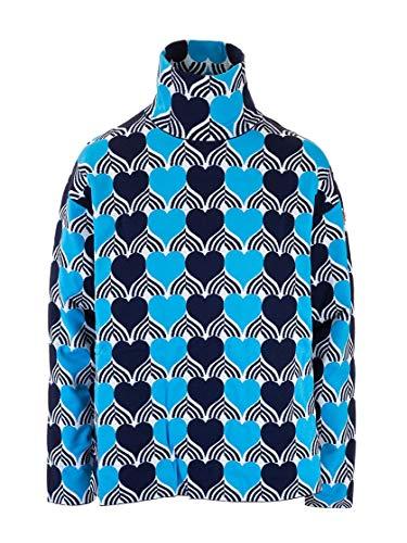 Luxury Fashion | Moncler Dames 9252600C9025787 Donkerblauw Polyester Truien | Herfst-winter 19