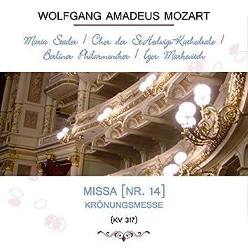 Maria Stader / Chor Der St.hedwigs-Kathedrale / Berliner Philarmoniker / Igor Markevitch Play: Wolfgang Amadeus Mozart: Missa (Nr. 14), Krönungsmesse, Kv 317 [Live]