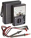 Hioki 3030-10 HiTester Manual-Ranging, Average-Sensing Analog Multimeter, 600V,...