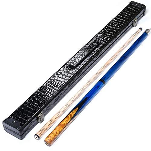 ZHEYANG Stecca Biliardo Stecche Biliardo Stick Tavola da Biliardo Cue Biliardo in Acero in Legno Massello con Set di Giunti in Acciaio di 3 (Taglia : 3#)