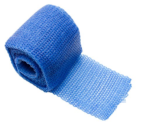 Orthopaedic Casting Tape POLYESTER | Gips Verband Cast Material Stützverband | Farbe: blau (4)