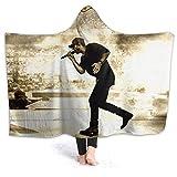 Sam Hunt Hooded Blanket Throw Fleece Soft Winter Novelty Blanket Bed Home Sofa 50'x40'