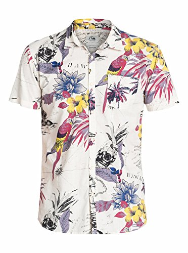 Quiksilver Deadsea Chemise manches courtes Homme High Rise FR : L (Taille Fabricant : L)