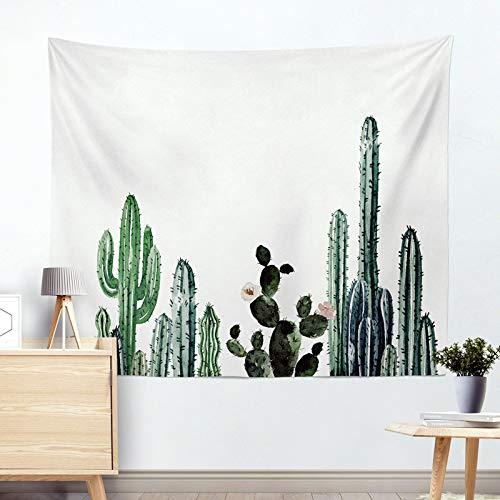 jtxqe Mode Europa und die Vereinigten Staaten hot Tapisserie hängen Tuch wandbehang dekorative Tapisserie Kaktus Tapisserie Strandtuch Kissen R005-H 130 * 150 cm