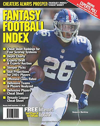 Fantasy Football Index 2019