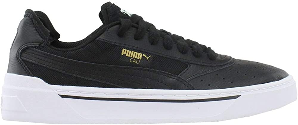 PUMA Mens Cali-0 Lace Up Gifts Shoes - Casual Sneakers Black Manufacturer OFFicial shop