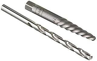 Irwin Hanson 57013 Ex-1 Spiral Flute Screw Extractor + 5/64 Drill Bit Combo Set | Carbon Steel | 3-Pack