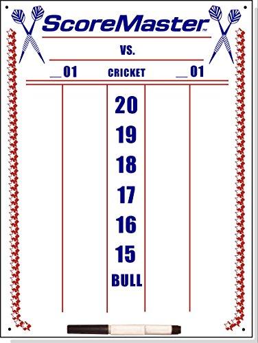 Scoremaster Dry Erase Cricket Dart Scoreboard...