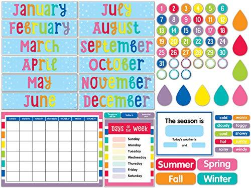 Schoolgirl Style - Hello Sunshine | Calendar Bulletin Board Set