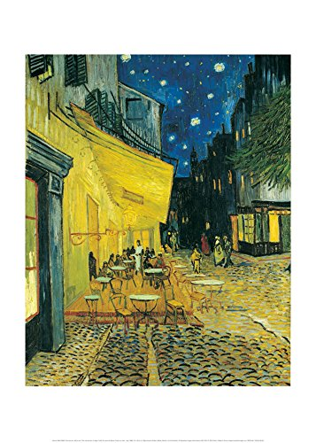 Nouvelles Images Nuevas imagesaffiche 50x 70cm terraza de café le Soir/The Cafe Terrace at Night/Café-Terrasse Am Abend
