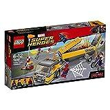LEGO Marvel Super Heroes Ataque al camión Cisterna - Juegos de construcción (Multicolor, 6 año(s), 330 Pieza(s), Cómics, 12 año(s), 59 mm)