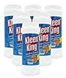 King Kleen Stainless Steel Cookware Cleaner and Copper Cleaner (14 oz, 6 Pack) Helps Remove Stains...
