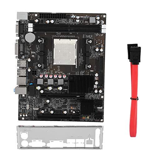 Tihebeyan Placa Base para computadora DDR2, Placa Base para computadora de Audio de Escritorio de 6 Canales para Memoria DDR2 800 / 667MHz de 4 GB y 4 Canales