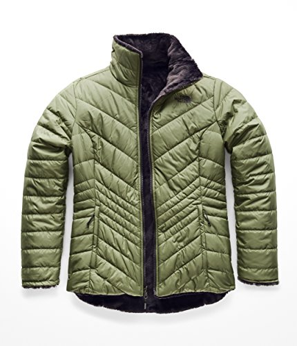 Price comparison product image The North Face Women's Mossbud Insulated Reversible Jacket,  Four Leaf Clover & Weathered Black,  Large