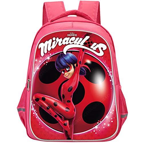 Mochilas Infantiles Guarderia Mochilas Infantiles Ladybug Bolsas Escolares De Dibujos Animados para Niñas Y Niños De 3 A 6