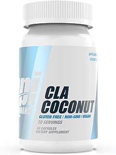 Bpi Performance CLA Coconut – Burn Fat, Overall Health, Energy, Heart Health – Safflower Oil, Coconut Oil – Gluten Free – Non-GMO – Vegan – for Men & Women – 60 Capsules – 30 Servings