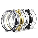 Simpeak Case Compatible with Galaxy Watch Active2 44mm, 5 Packs...